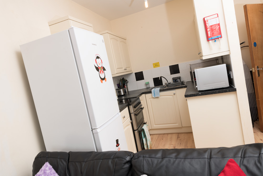 Ormskirk Student Accommodation, Burscough Street property – kitchen
